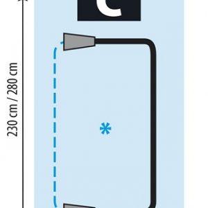 Mitos C-vetoketjuovi PVC/HD