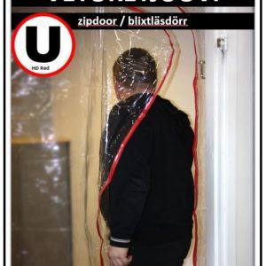 Cona U-vetoketjuovi RED PVC/HD, 230g