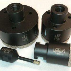 CONA Dry Cutting Diamond Drill 6-120mm M14